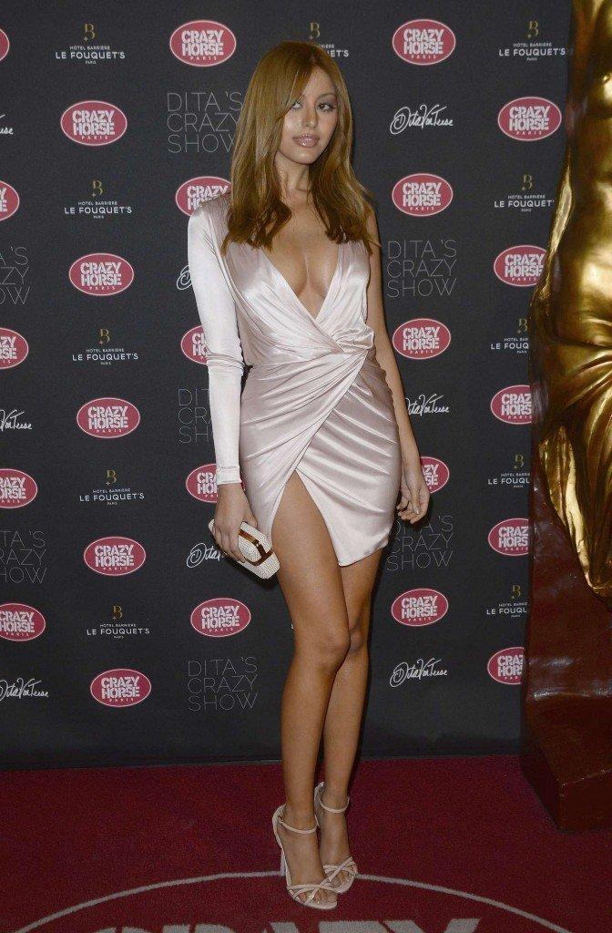 Zahia Dehar Without Underwear 12