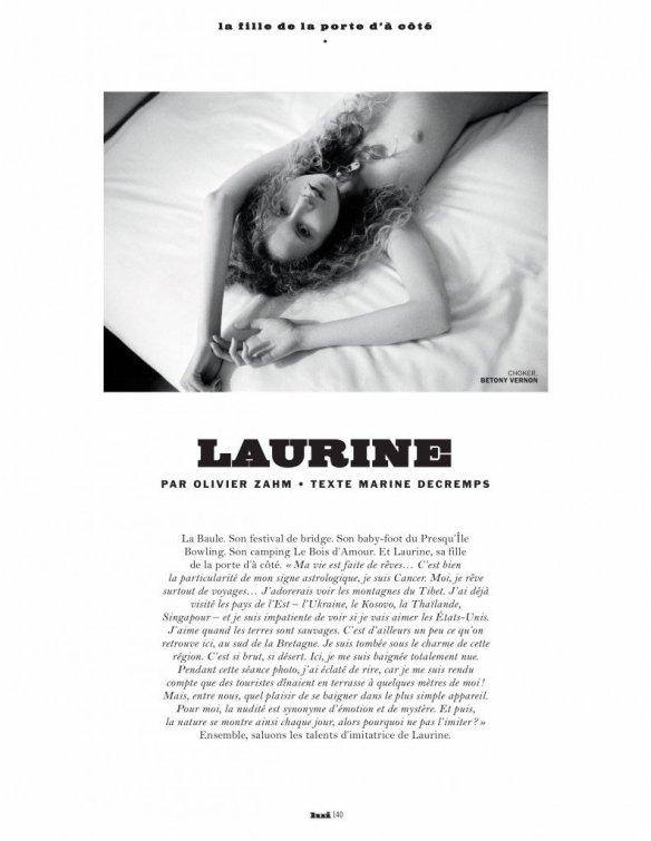 Laurine Matt Nude 1