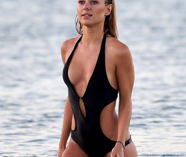 Kimberley Garner In A Swimsuit
