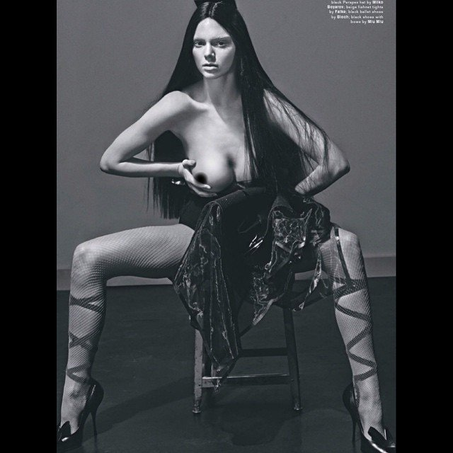 Kendall Jenner Topless (5 New Photos)