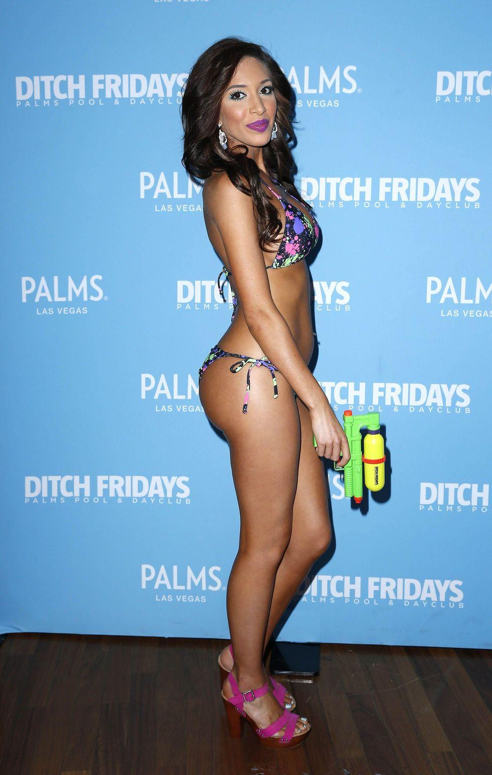 Farrah Abraham in Bikini (3 Photos)
