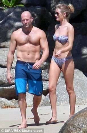 Rosie Huntington-Whiteley in a Bikini (12 Photos)