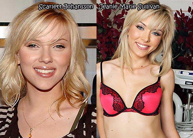 49 Celebrities And Their Pornstar Doppelgangers