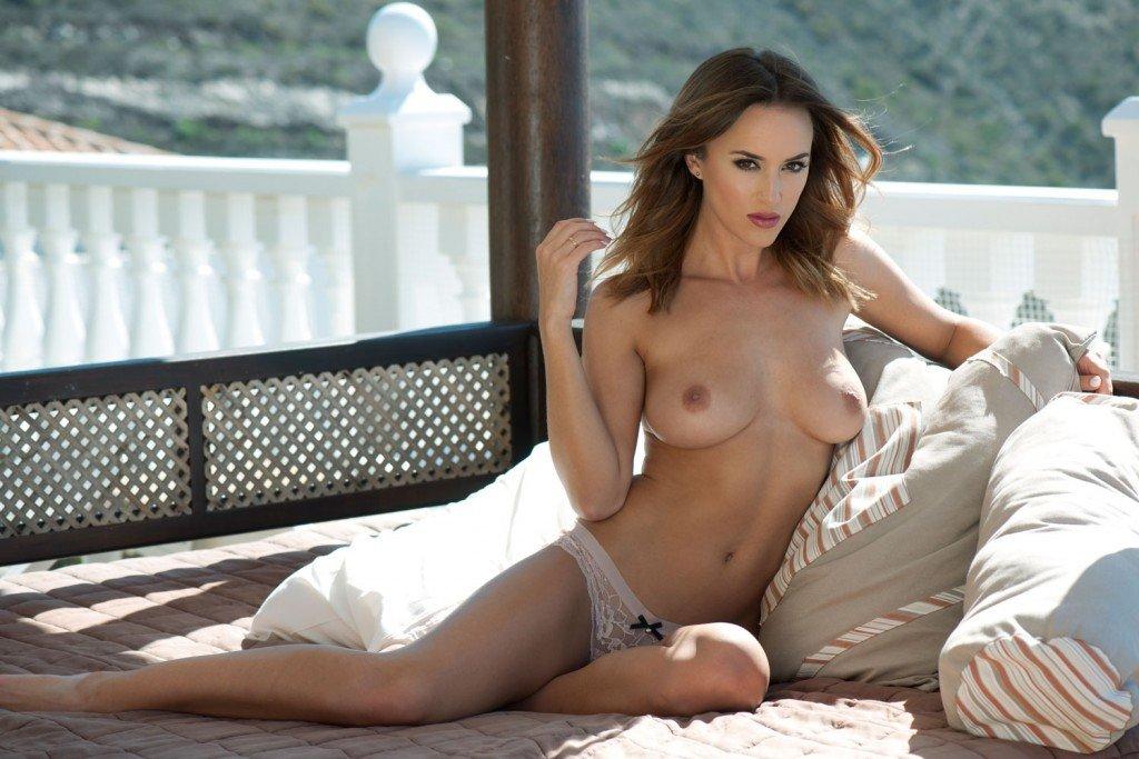 Rosie Jones Topless – Page3 (4 New Photos)