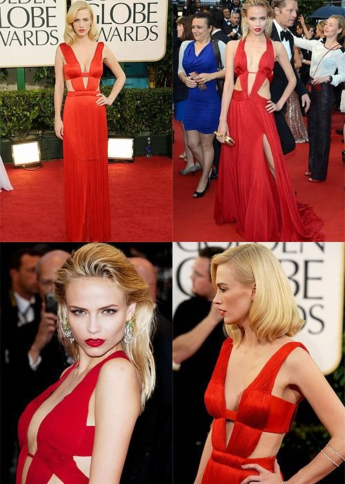 Poll: January Jones vs. Natasha Poly