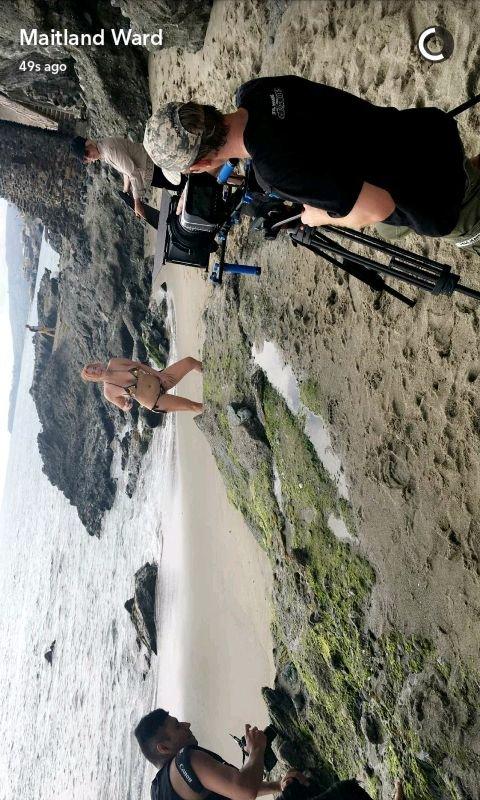 Maitland Ward in a Bikini (3 Photos)