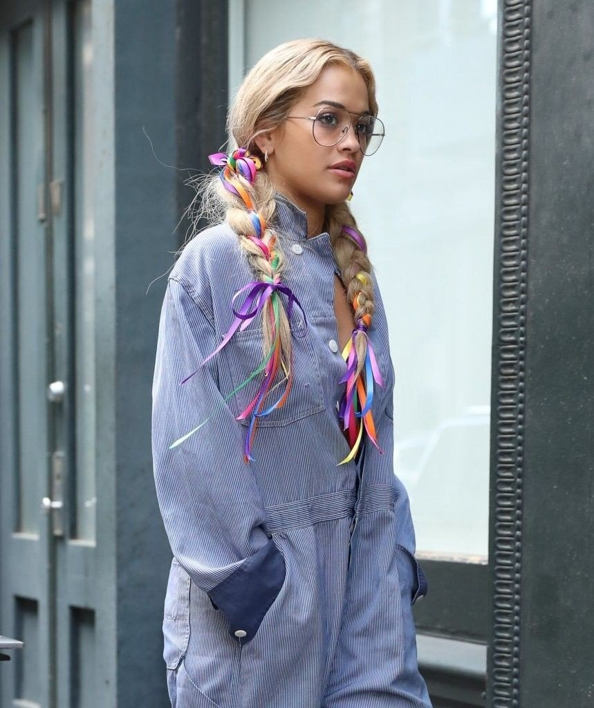 Rita Ora Braless (34 Photos)