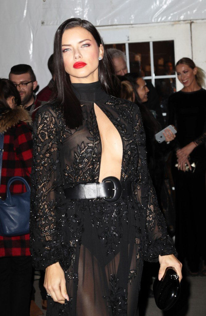 Adriana Lima See Through (16 Photos + Video)