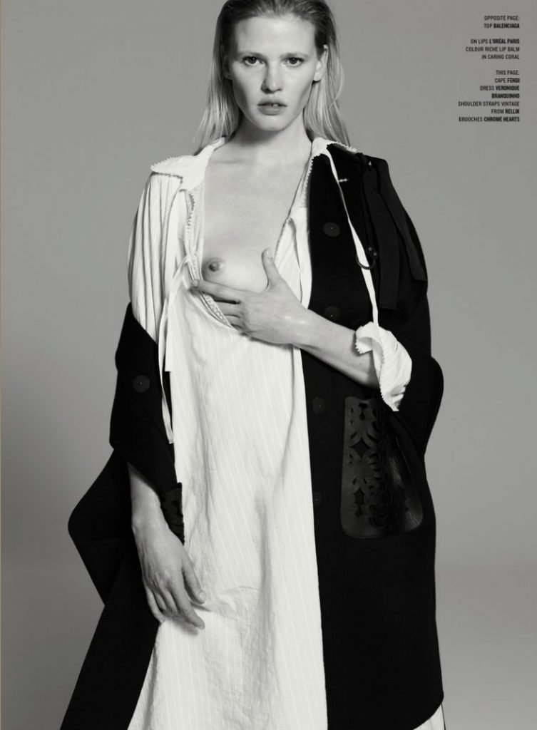 Lara Stone Topless (2 New Photos)