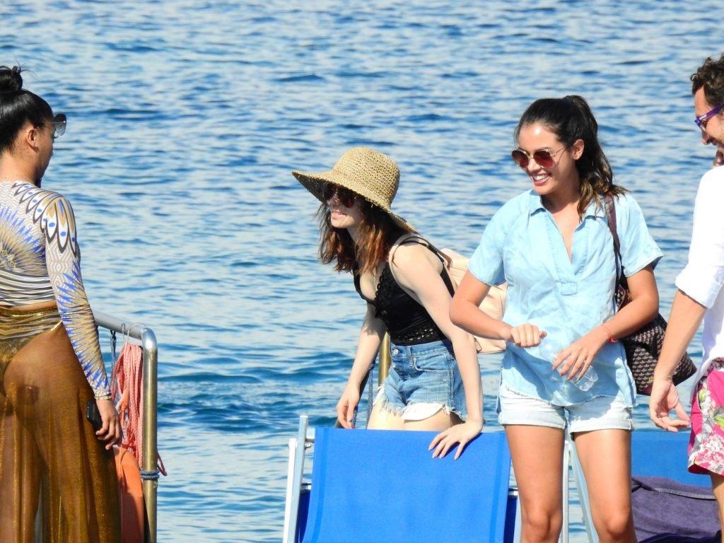 Lily Collins Nip Slip (30 Photos)