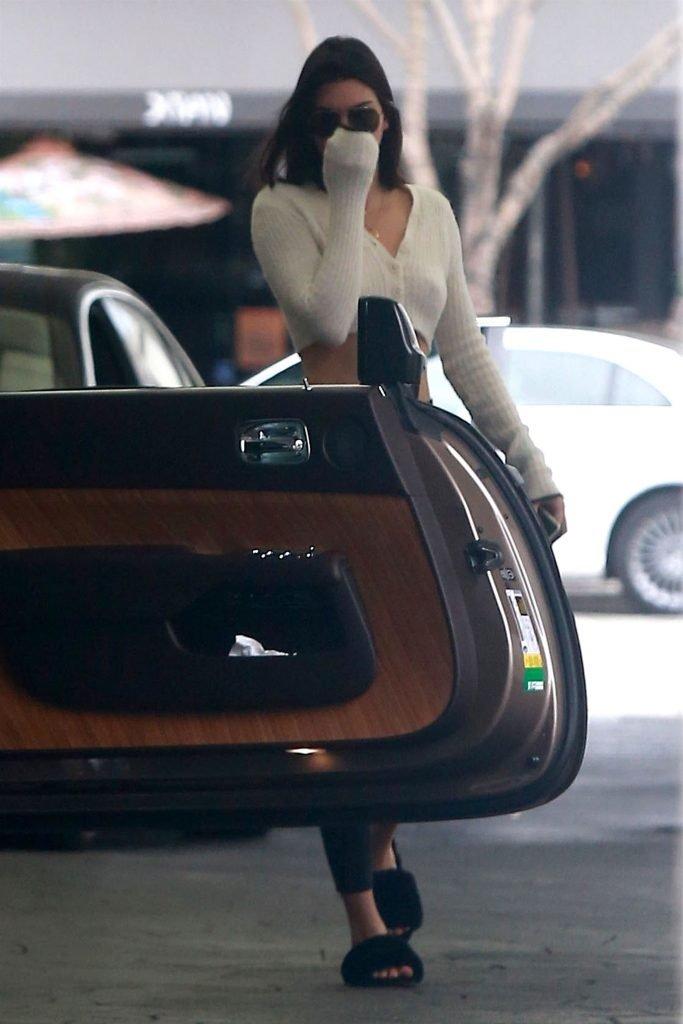 Kendall Jenner Braless (10 Photos)