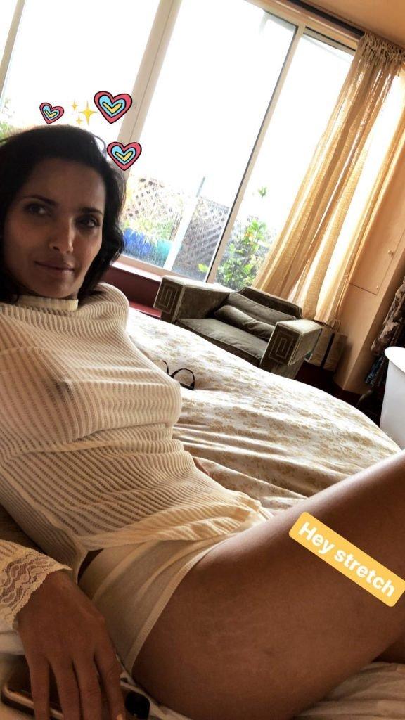 Padma Lakshmi See Through (1 Photo)