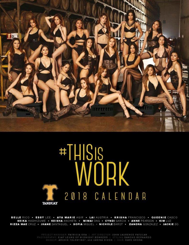 FHM Official Calendar 2018 Philippines