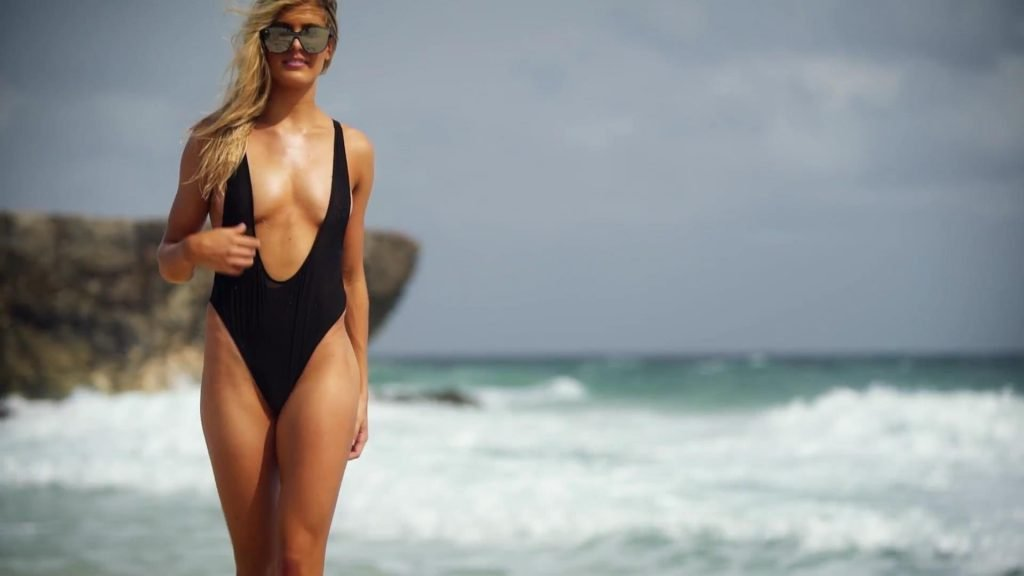 Genie Bouchard Intimates & Uncovered – 2018 Sports Illustrated Swimsuit Issue (68 Pics + Gifs & Videos)