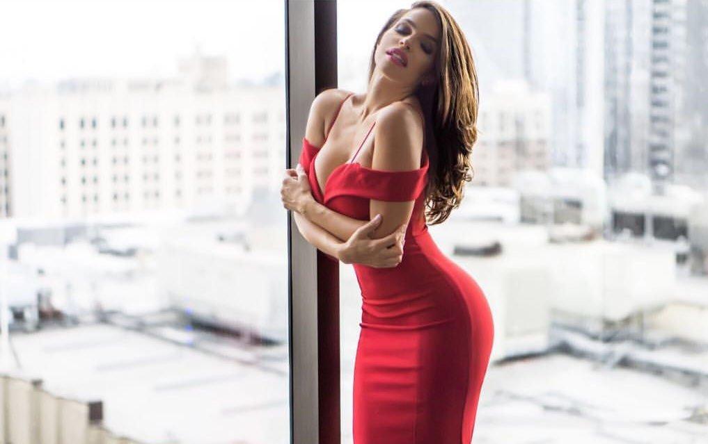 Vida Guerra Gives Sexy Gifts (18 Pics + Gifs)