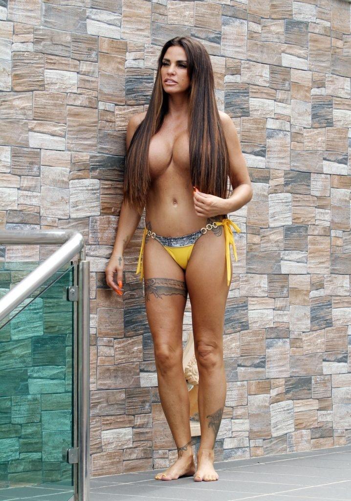 Katie Price Topless (42 Photos)