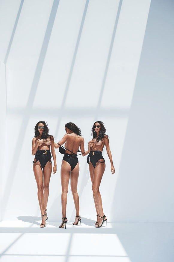 Lais Ribeiro Sexy & Topless (8 Photos)