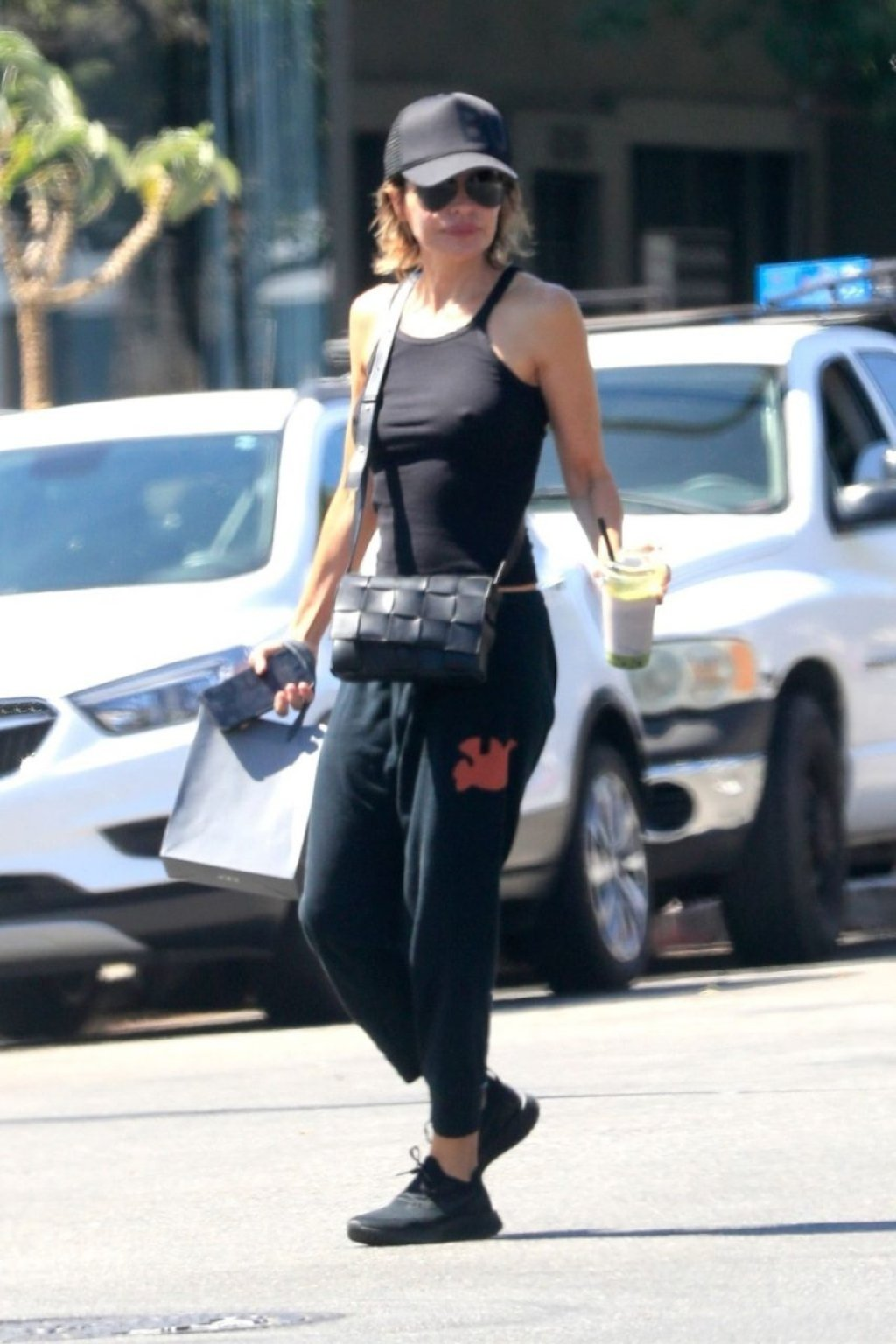 Lisa Rinna Braless (9 New Photos)