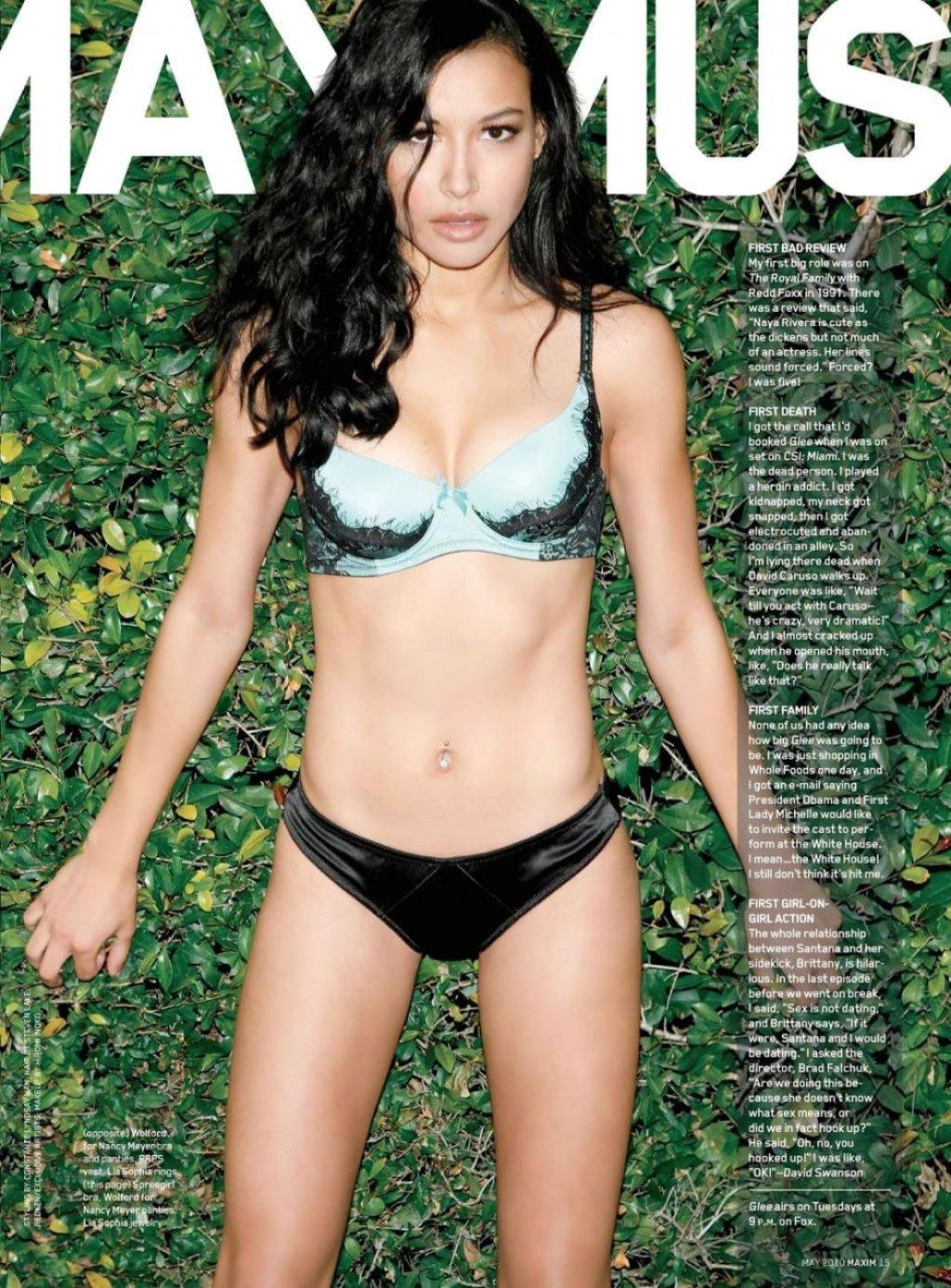 Naya Rivera Sexy (9 Photos)