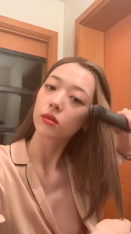 Sulli Choi Nip Slip (3 Pics + Video)