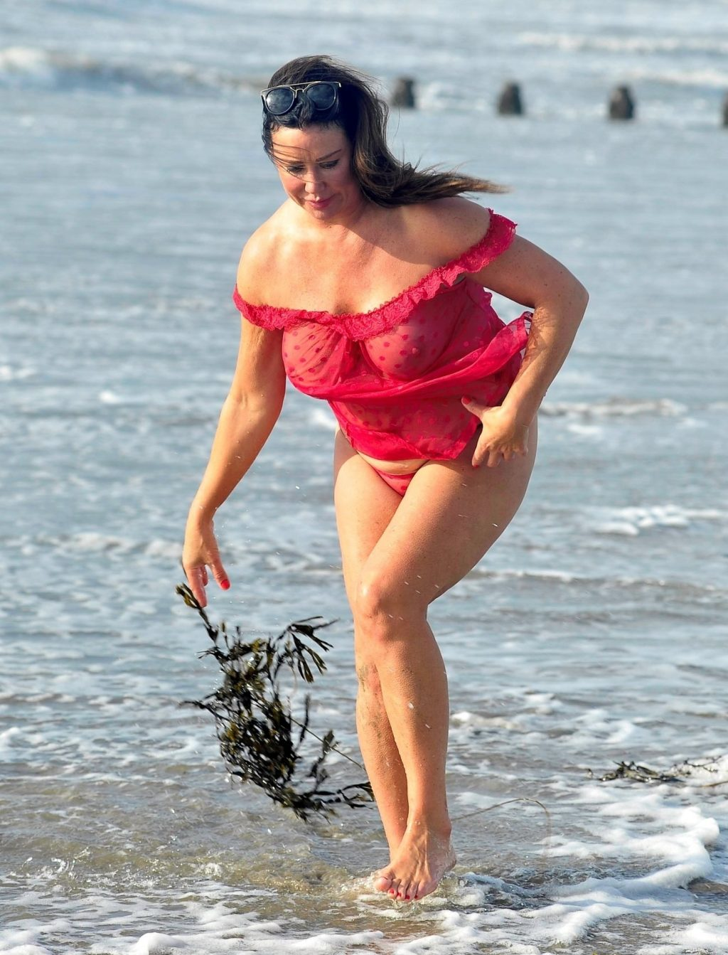 Lisa Appleton See Through & Topless (11 Photos)
