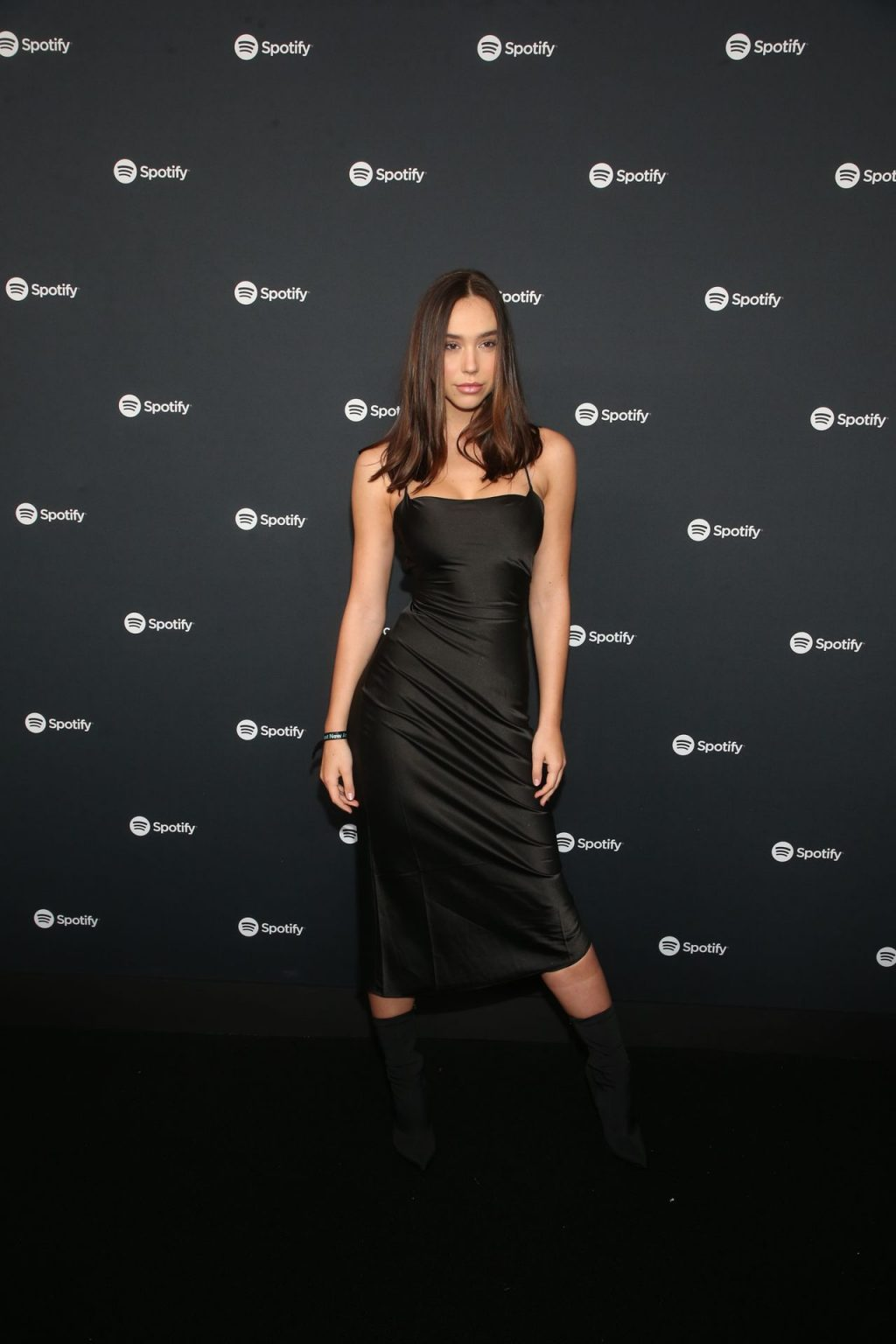 Alexis Ren Shows Off Her Tits at the Spotify Best New Artist Party (18 Photos)