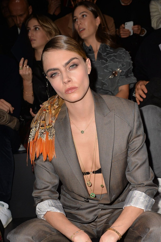 Cara Delevingne's Nipple Peek in a Bra (27 Photos)