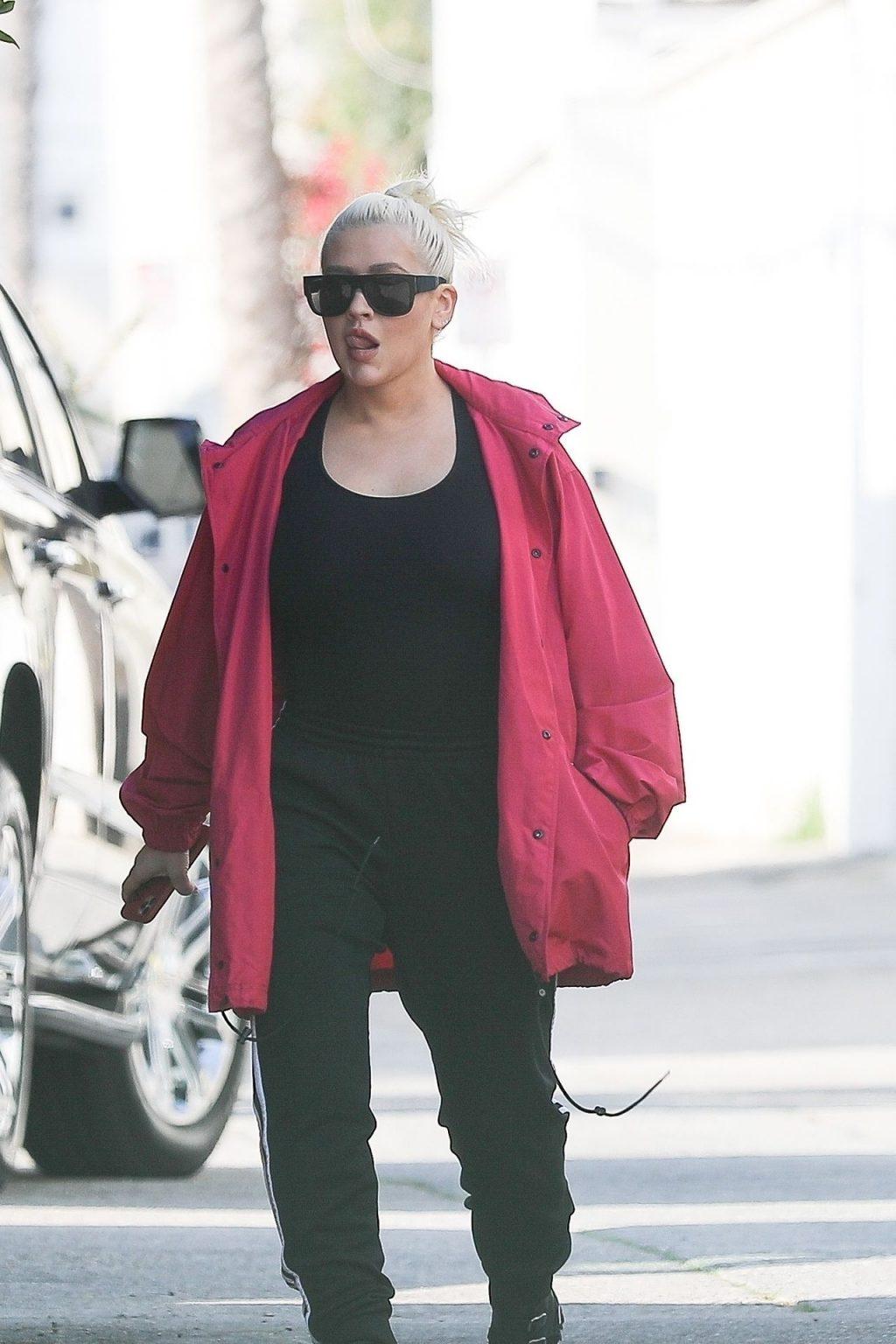 Christina Aguilera Braless (43 Photos)