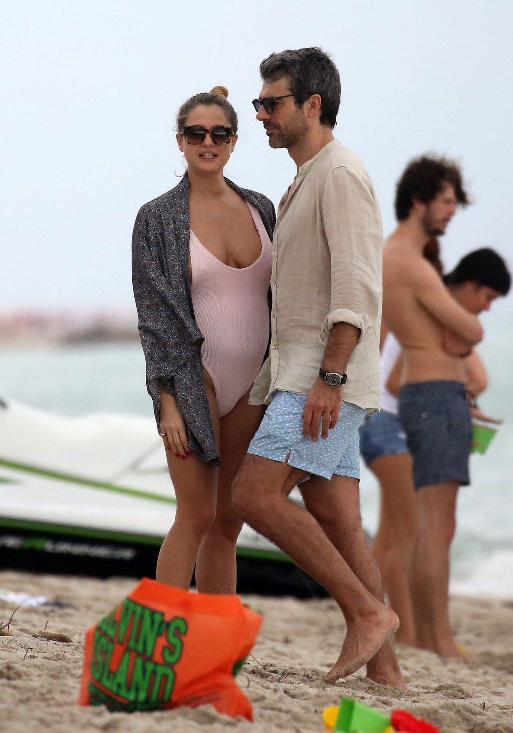 Cristina Marino Shows Off Her Baby Bump & Tits (65 Photos)