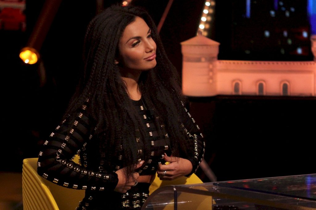 Elettra Lamborghini Pictured Braless in Italian TV Show (36 Photos)