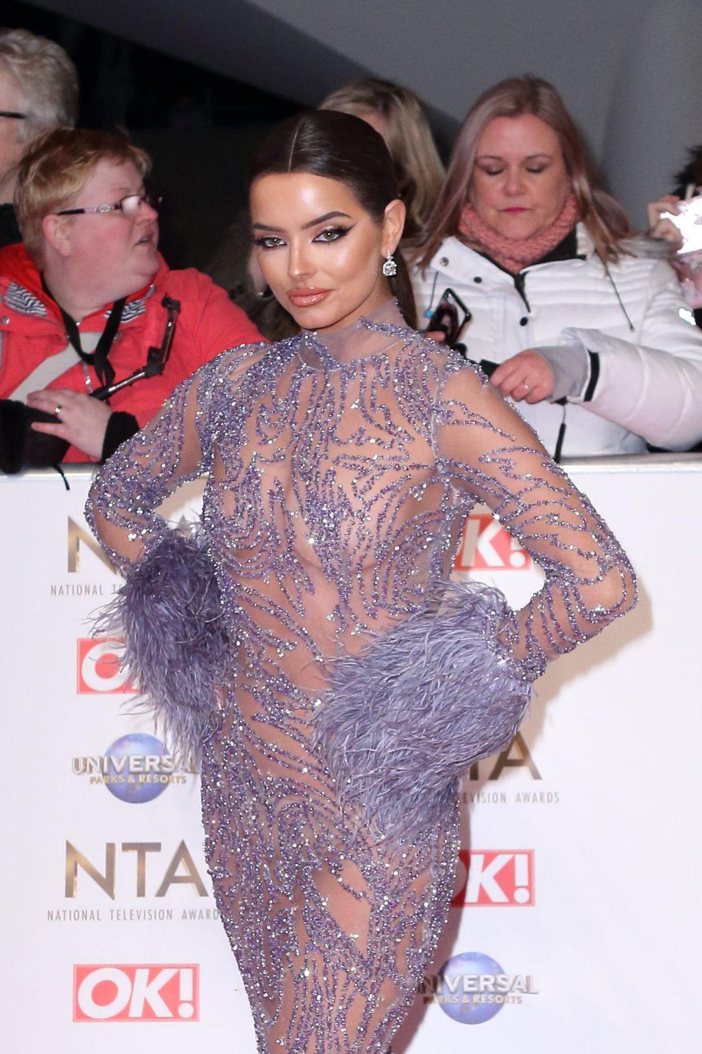 Maura Higgins Looks Hot at the National Television Awards (16 Photos)