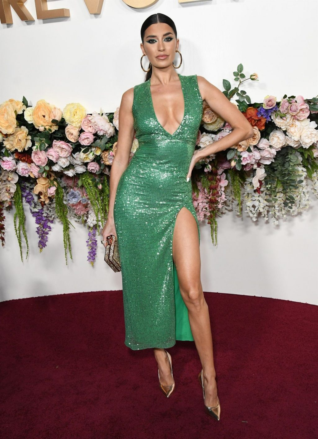 Nicole Williams Flaunts Her Sexy Figure at the 3rd Annual #REVOLVEawards (33 Photos)