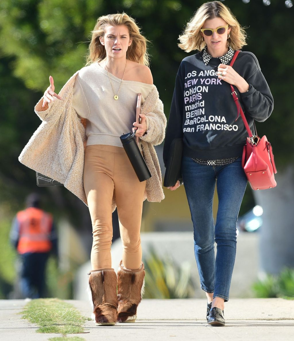 Braless AnnaLynne McCord Strikes a Pose While Out and About in Los Angeles (44 Photos)