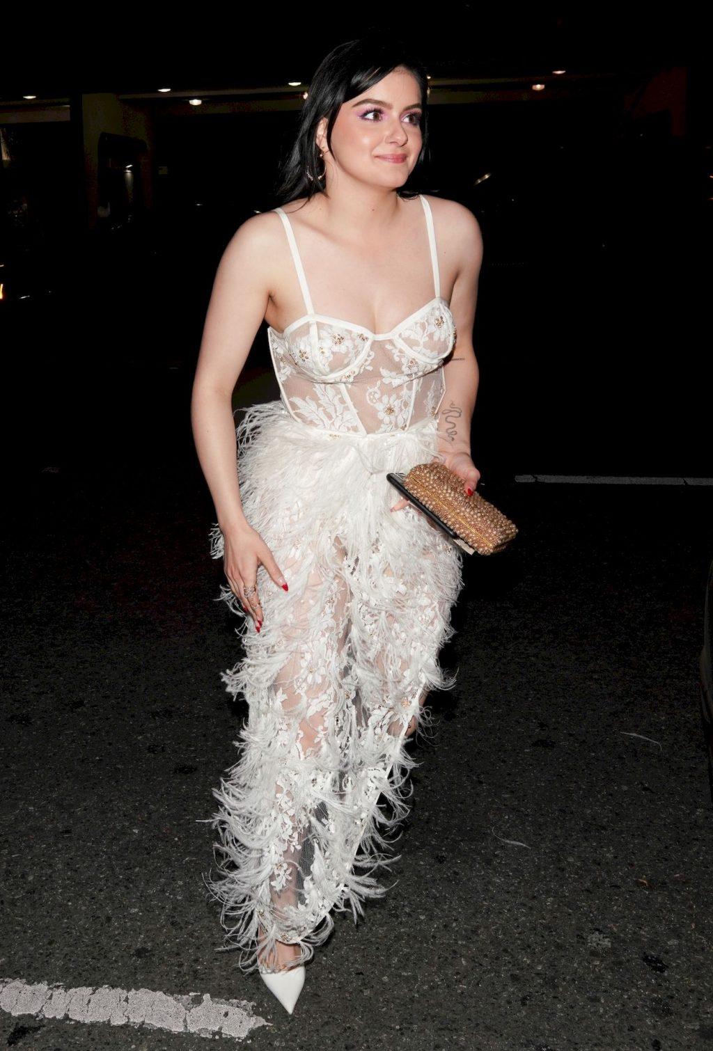 Ariel Winter Puts on a Very Sexy Display in a Sheer Dress (11 Photos)