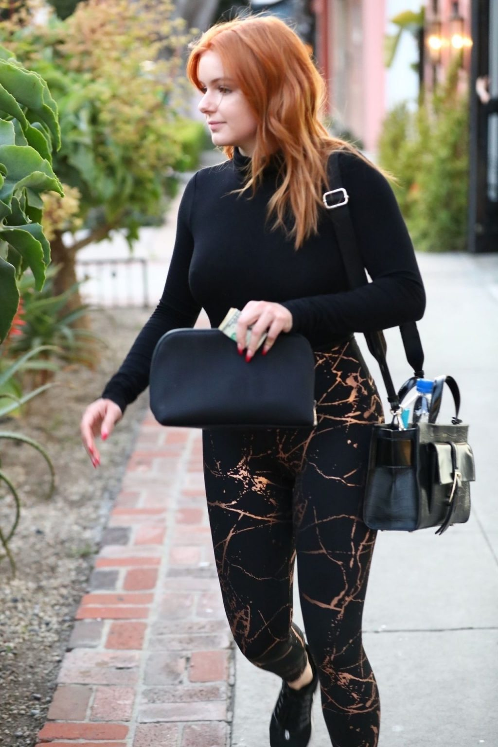 Ariel Winter Shows Off Her Brand New Red Hair at Nine Zero One Salon (50 Photos)