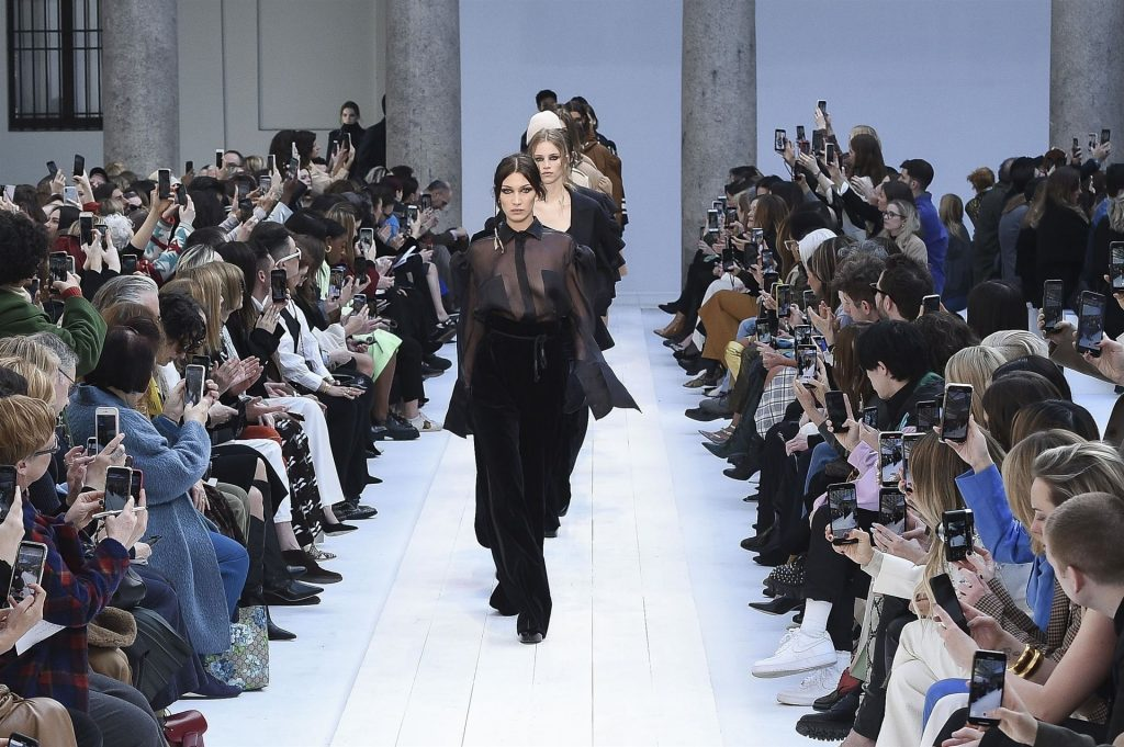 Bella Hadid Walks the Runway During the Max Mara Fashion Show (20 Photos + GIF & Video)