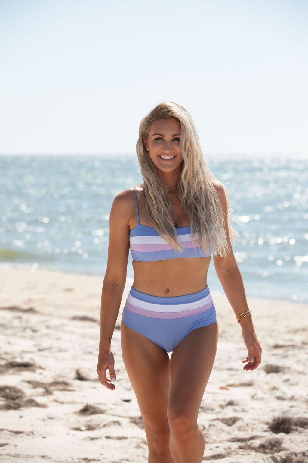 Brittany Aldean Shows Off Her Stunning Body on the Beach in Florida (45 Photos)
