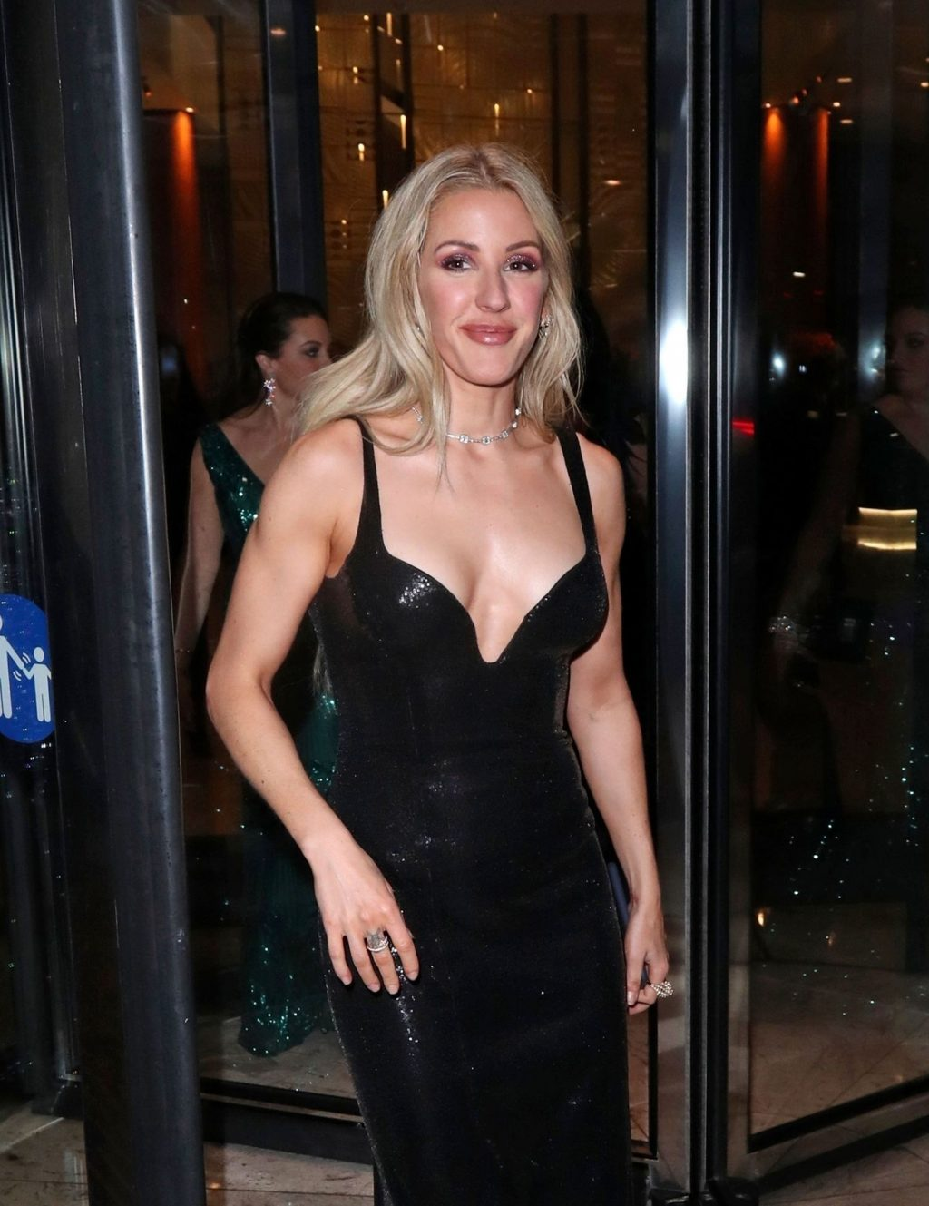 Ellie Goulding Pictured at The BRIT Awards (15 Photos)