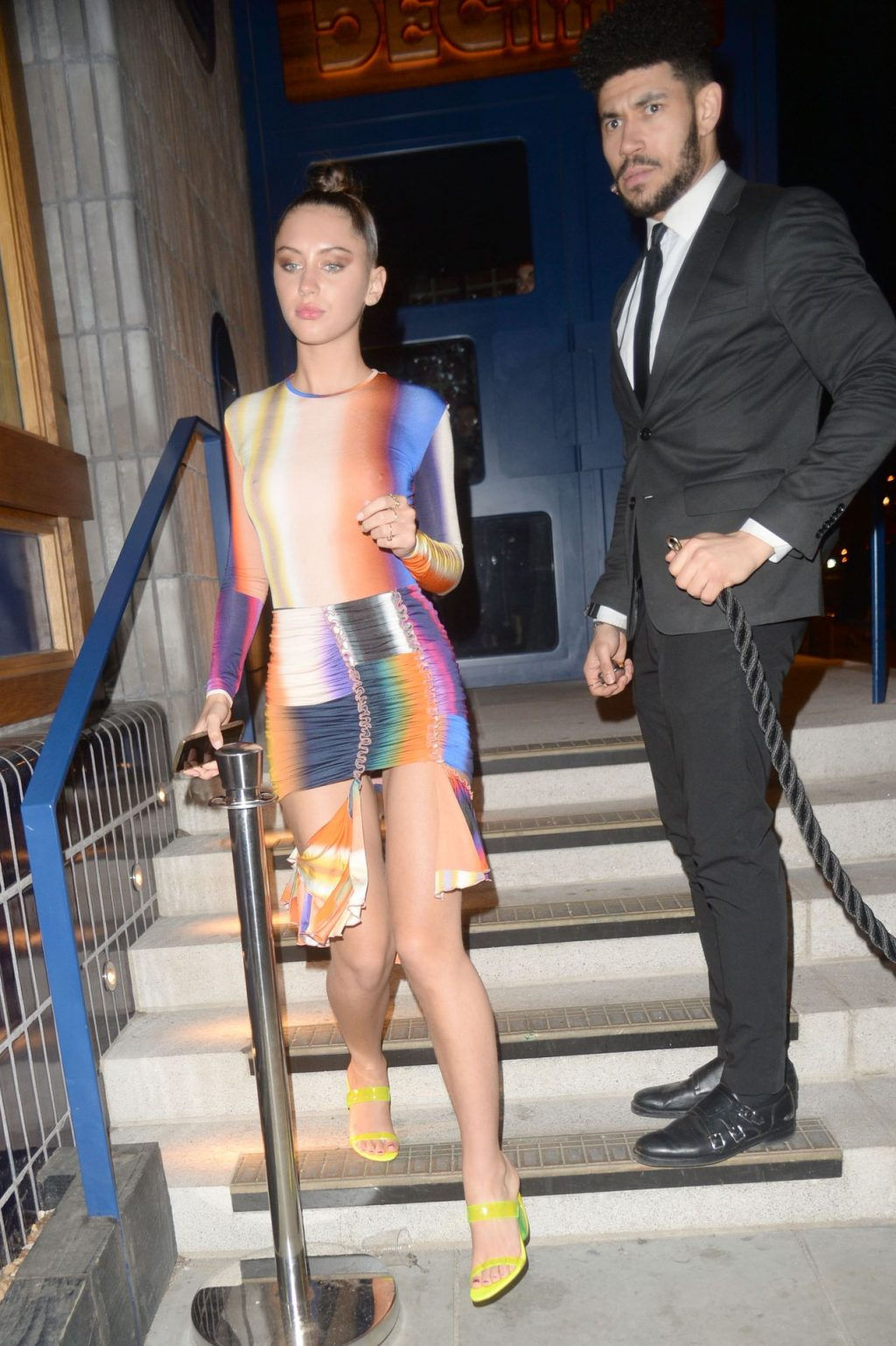 Iris Law Flaunts Her Tits in London (124 Photos)