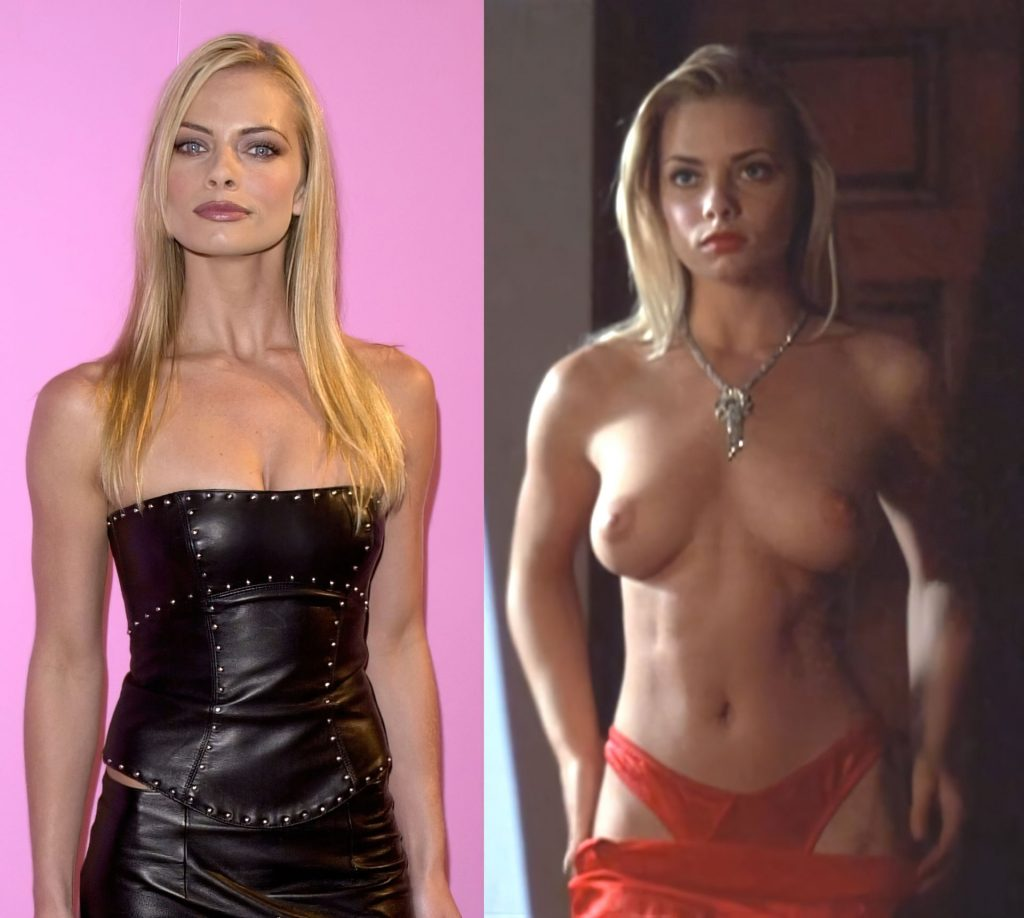 Jaime Pressly Nude & Sexy (1 Collage Photo)