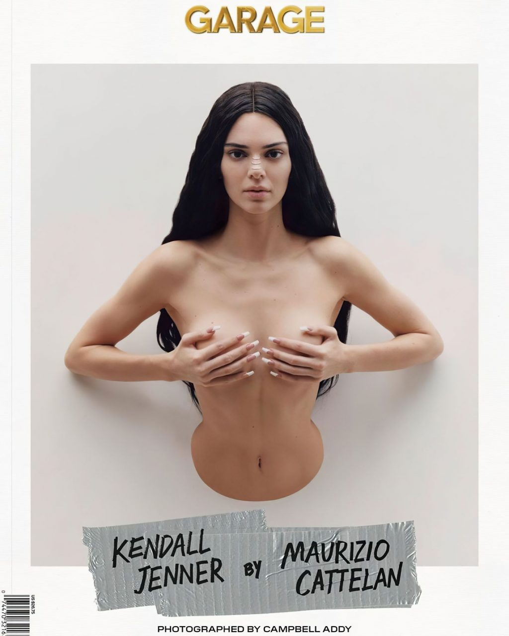 Kendall Jenner Sexy & Topless – Garage Magazine (9 Photos)