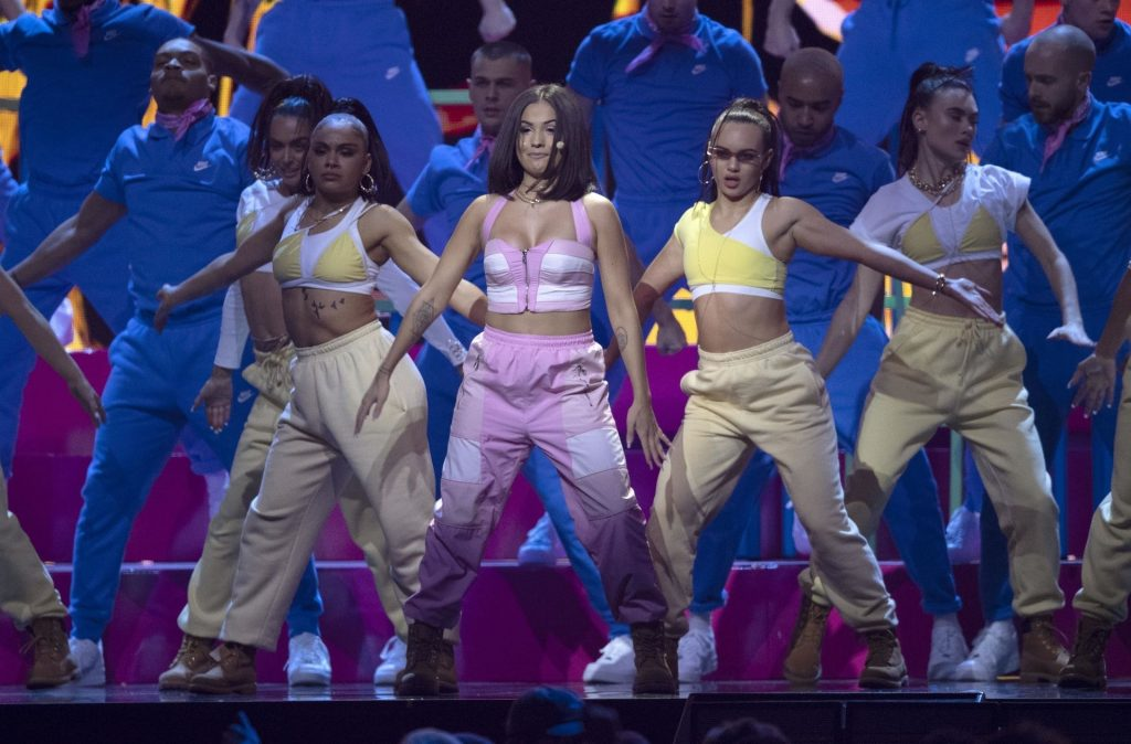 Mabel Pictured Performing Live on Stage at the 40th Brits Awards (32 Photos)
