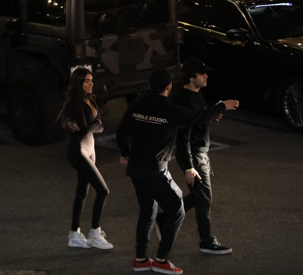 Madison Beer and David Dobrik Leave The Saddle Ranch in West Hollywood (19 Photos)