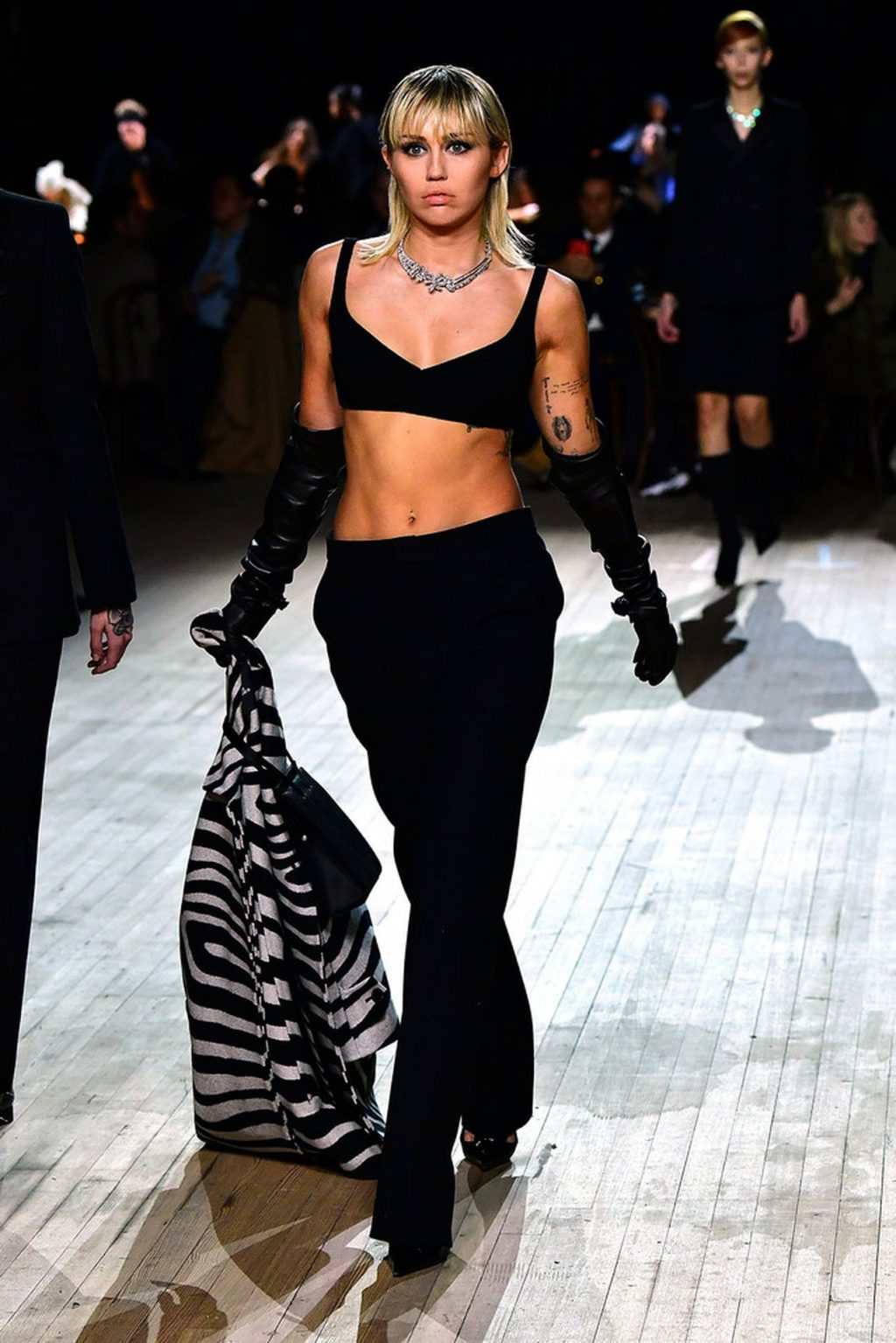 Miley Cyrus Walks the Runway at the Marc Jacobs Show (22 Photos + GIF & Video)
