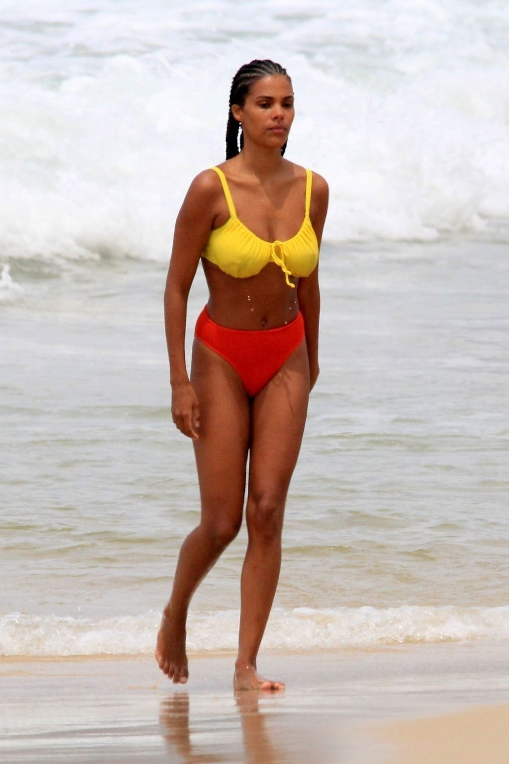 Beach Babe Tina Kunakey and Vincent Cassel Heat Up Their Romance on the Beaches of Rio (66 Photos)