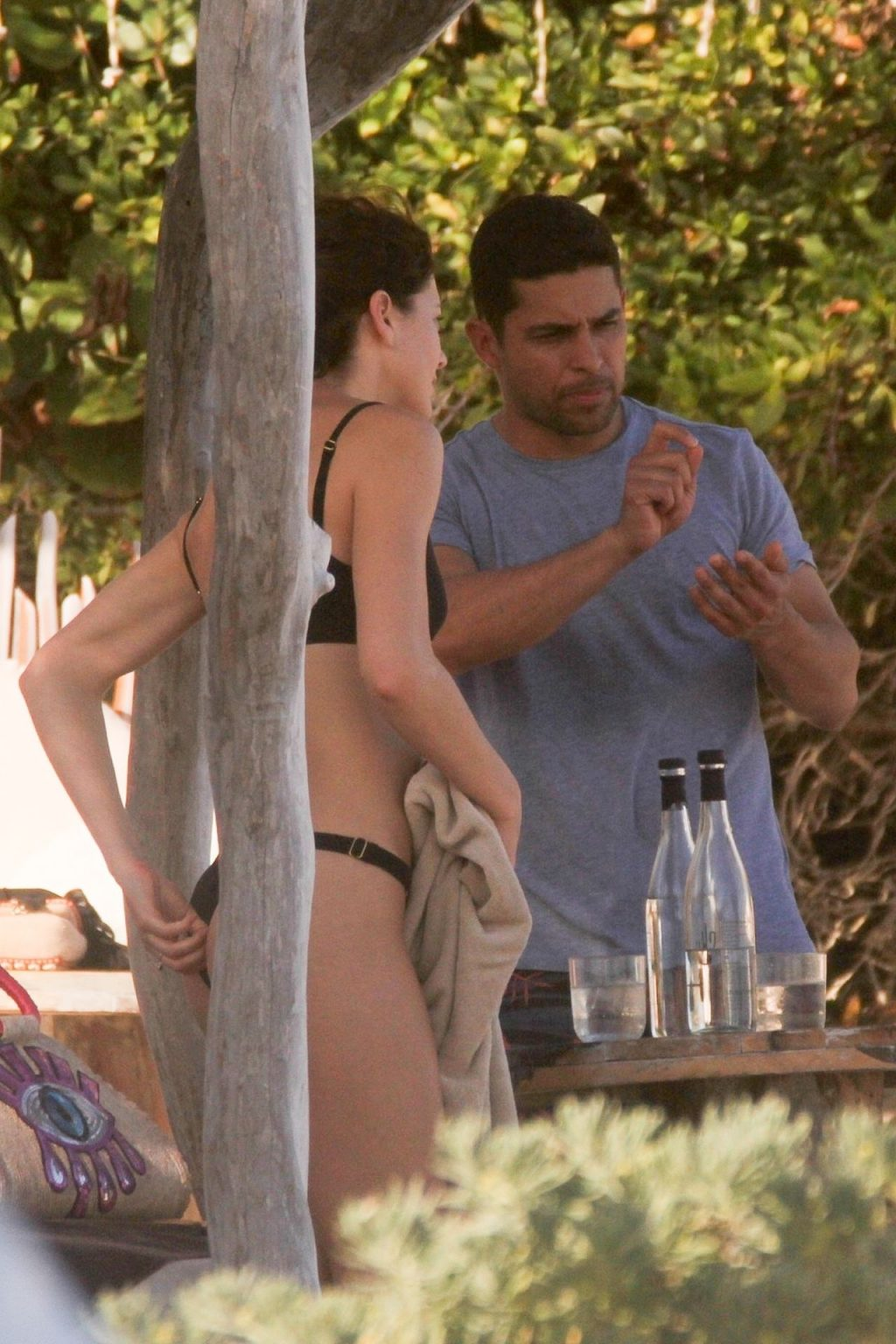 Wilmer Valderrama & Amanda Pacheco Enjoy Their Day in Tulum (20 Photos)