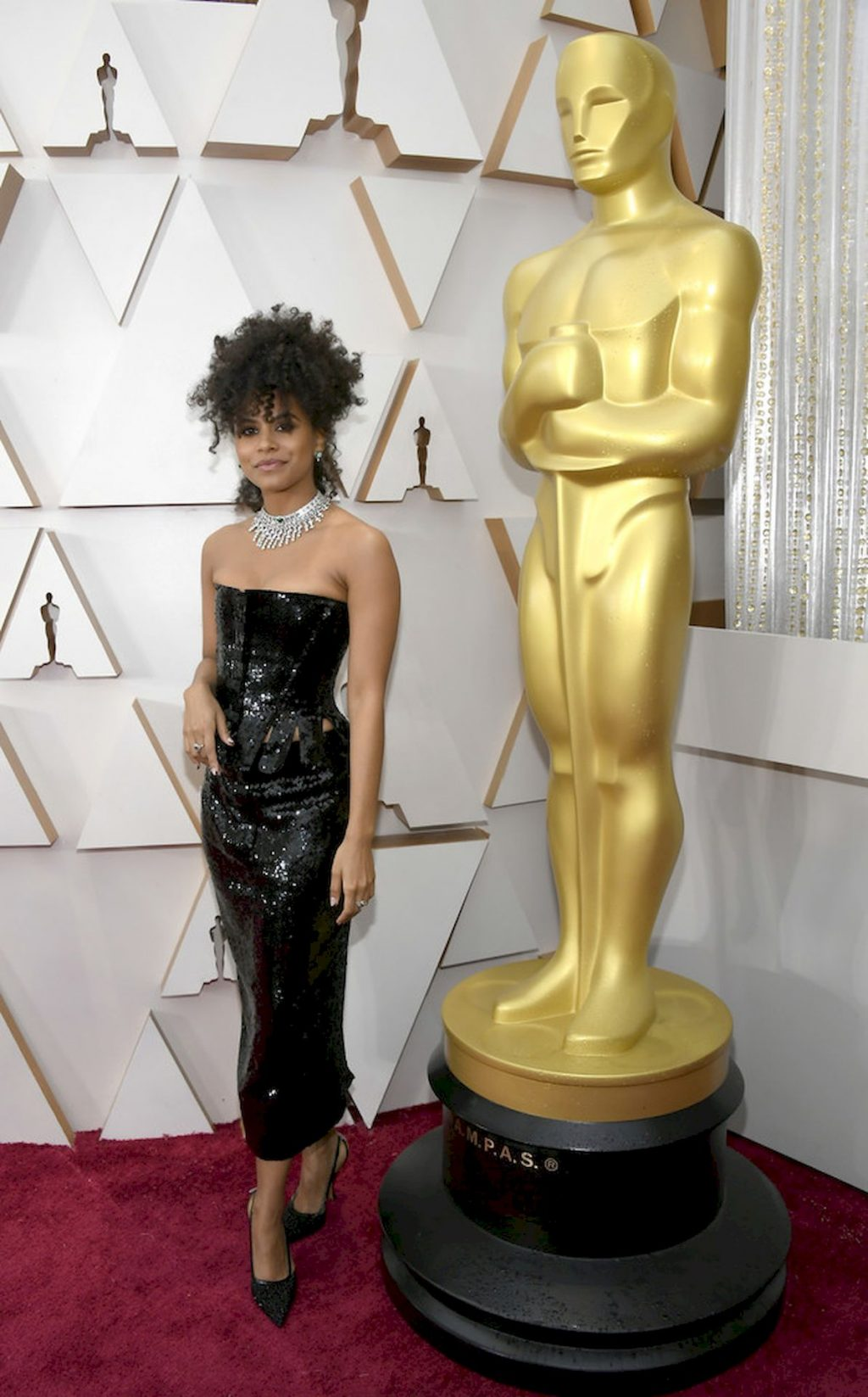 Zazie Beetz Displays Her Sexy Body at the 92nd Academy Awards (14 Photos)