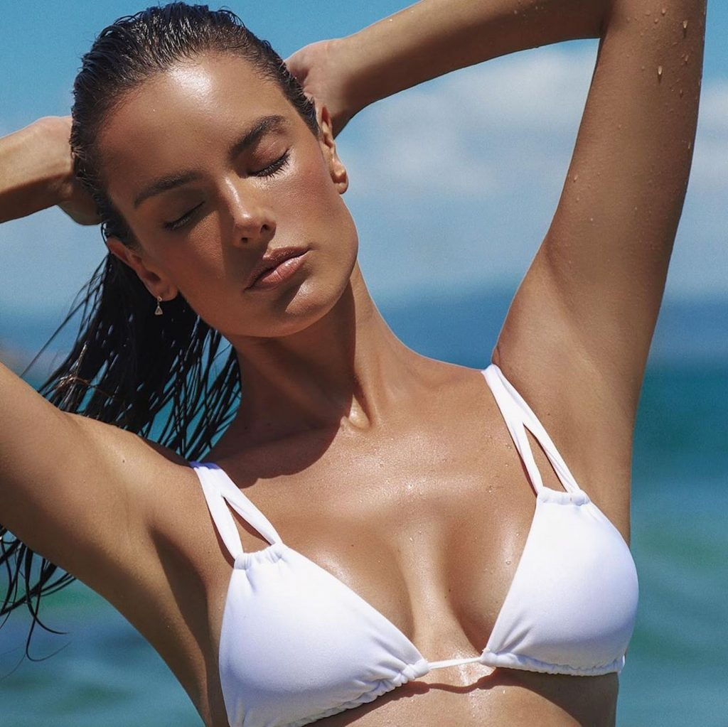 Alessandra Ambrosio Poses with Gisele Coria for the New Campaign of Her Swimwear Brand (16 Photos)
