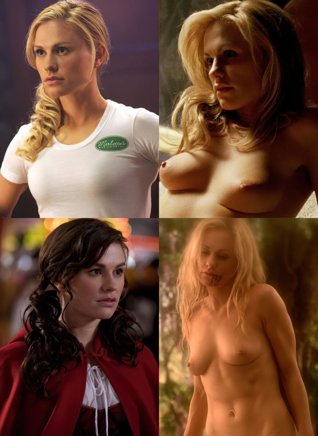 Anna Paquin On/Off (1 Collage Photo)