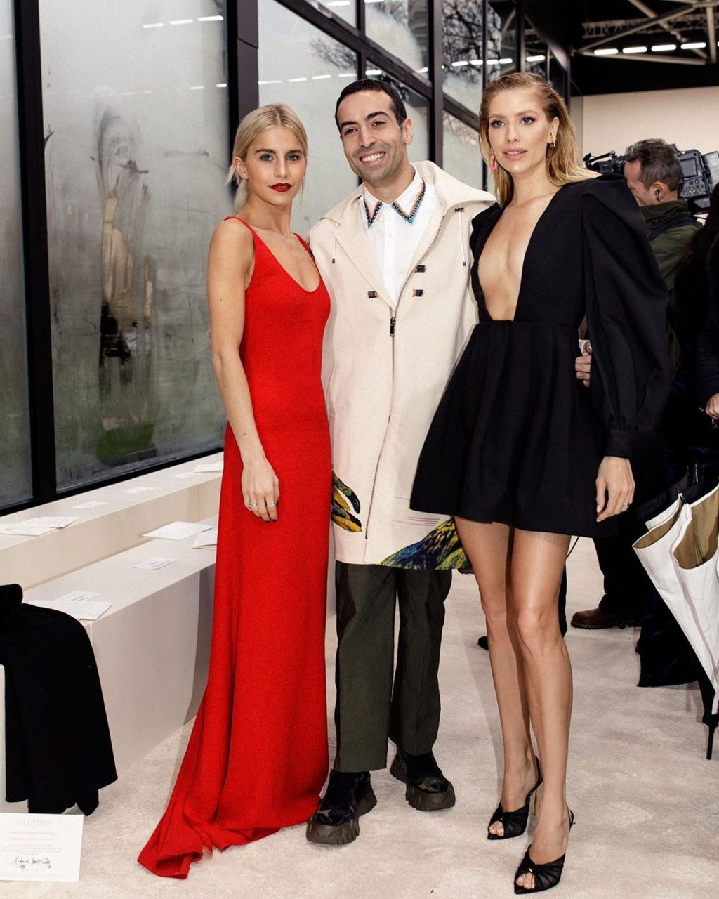 Elena Perminova Stuns at Valentino Fashion Show in Paris (11 Photos)